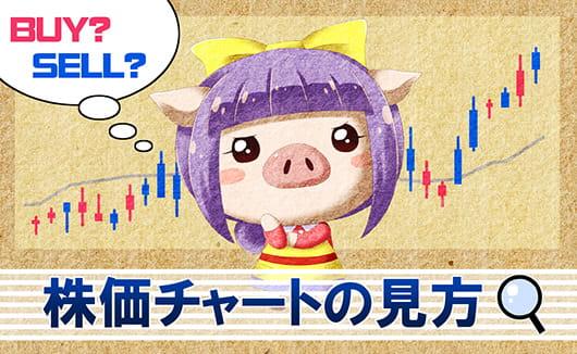 株価チャートの見方を画像つきで解説!ローソク足を分析に活かそう